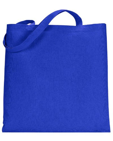 Ultraclub 8860 Uc Canvas Tote W/O Gusset - Royal - One