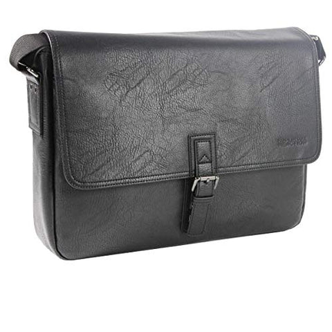 Reaction Kenneth Cole SINGLE-GUSSET MESSENGER BAG