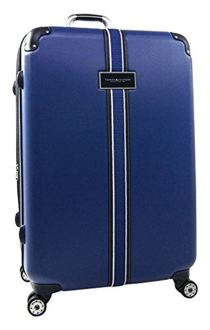 "Tommy Hilfiger Classic 28"" Expandable Hardside Spinner, Royal Blue"