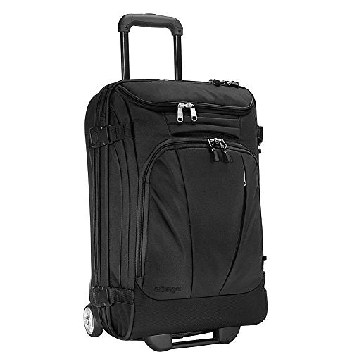 "eBags TLS Mother Lode Mini 21"" Wheeled Duffel Bag Luggage - Carry-On - (Solid Black)"