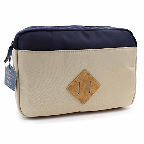 Weatherproof Vintage Toiletry Travel Bag