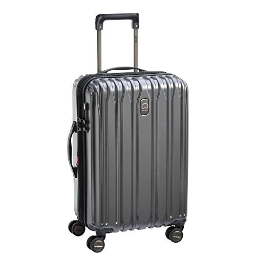 Delsey Unisex Chromium Lite Expandable Spinner Carry-On Graphite One Size