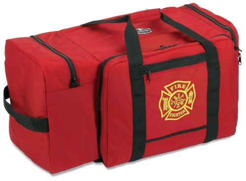 Arsenal 5005P Large Firefighter Rescue Turnout Fire Gear Bag w/ Shoulder Strap & Helmet Pocket