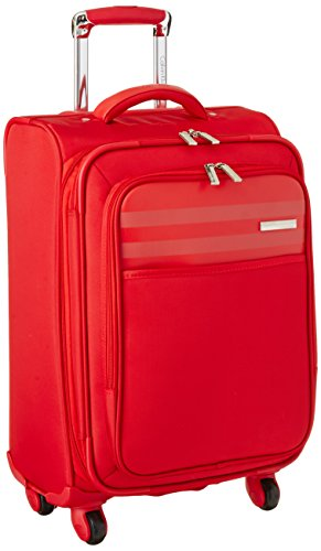 Calvin Klein Greenwich 2.0 21 Inch Upright Carry-On Suitcase, Red, One Size
