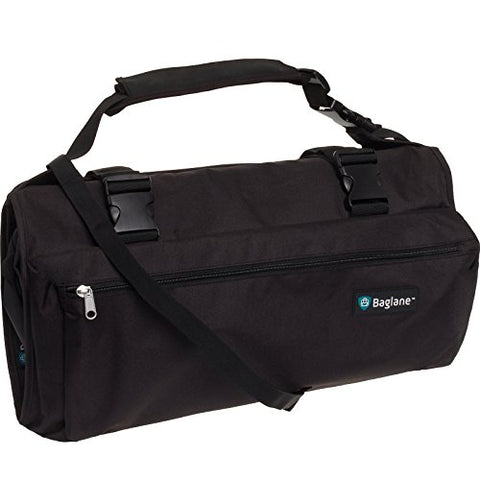 Baglane Garment Suit Bag Travel Carry On Garment Bag (Black)