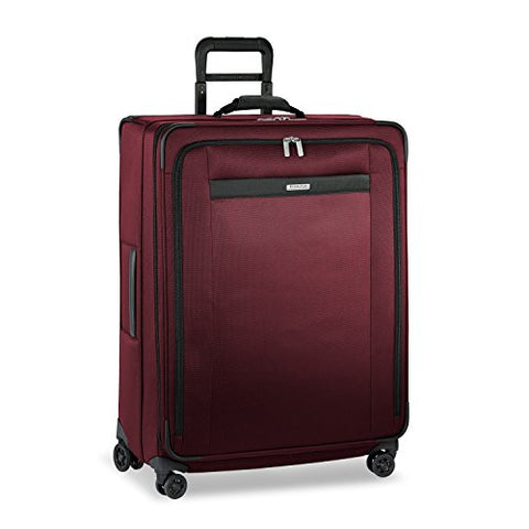 Briggs & Riley Transcend Large Expandable Spinner, Merlot
