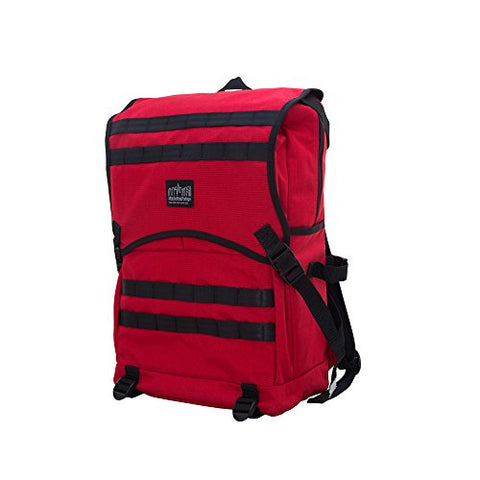 Manhattan Portage Fort Hamilton Backpack, Red, One Size