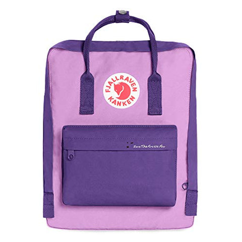 Fjallraven - Save the Arctic Fox Kanken Backpack for Everyday, Purple/Orchid