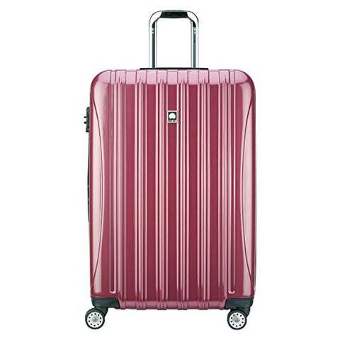 Delsey Luggage Helium Aero 29 Inch Expandable Spinner Trolley, Peony