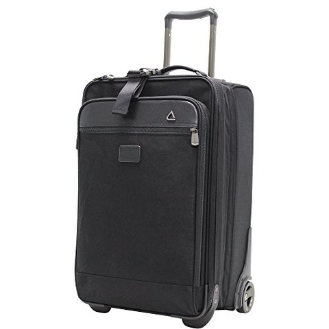 Amazon.com | Andiamo Avanti Collection 26 Inch Auto-Expand Vertical with Suitor, Midnight Black, One Size | Suitcases