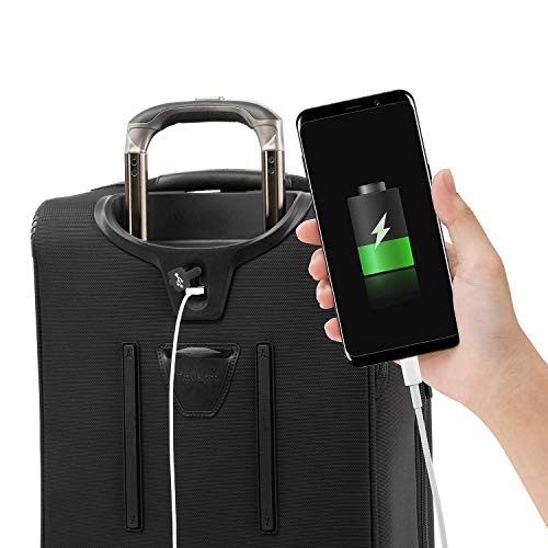 Travelpro Crew Versapack Global Carry-on Exp Rollaboard, Jet Black