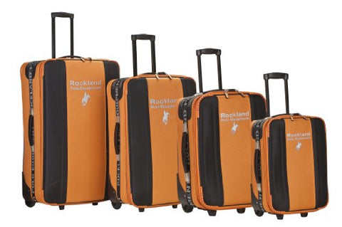 Rockland Luggage 4 Piece Polo Equipment Set, Orange, X-Large