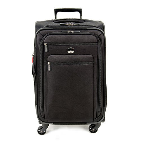 "DELSEY Paris Helium Sky 25"" Exp. Spinner Trolley, Black"
