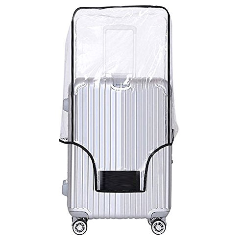 Luggage Cover 24 Inch Suitcase Cover Rolling Luggage Cover Protector Clear PVC Suitcase Cover for