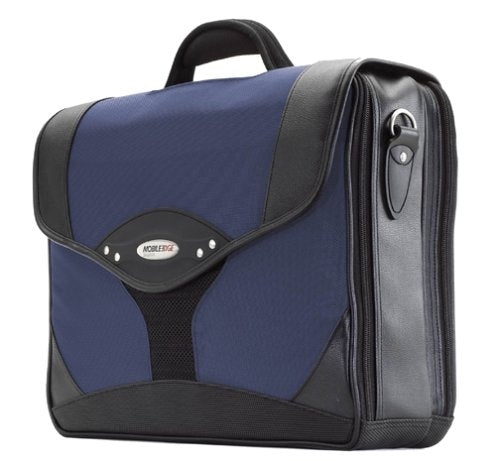 Mobile Edge Premium Computer Briefcase- 15.6-Inch Pc/17-Inch Mac (Navy/Black)