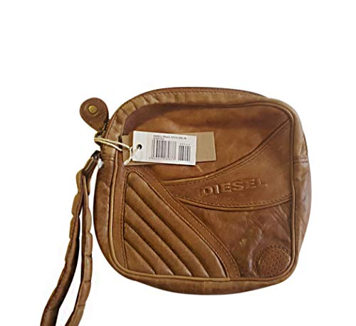 Diesel Clutch 00BB51PR445T2215 Coin Pouch, 26 cm, 6 liters, Brown (Braun)