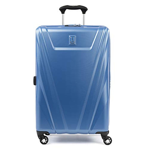 Travelpro Maxlite 5 25-Inch Expandable Hardside Spinner Luggage, Azure Blue