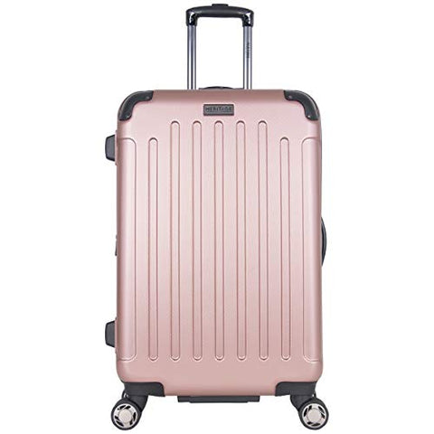 "Heritage Travelware Logan Square 25"" Lightweight Hardside Expandable 8-Wheel Spinner Checked"