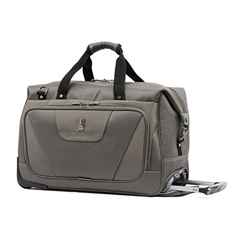 Travelpro Maxlite 4 Rolling Carry-on Duffel, Slate Green