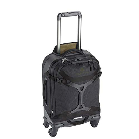 Eagle Creek Gear Warrior 4-Wheel International Carry-On Luggage, 21-Inch, Jet Black