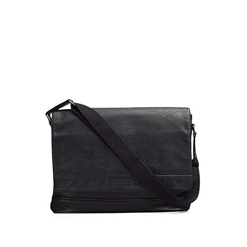 Reaction Kenneth Cole Top-Flap Messenger Bag - Men'S - Black