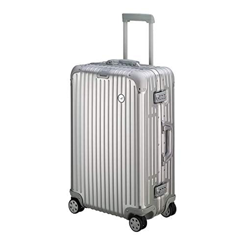 Rimowa Lufthansa Alu Collection Multiwheel Suitcase 64L, Silver