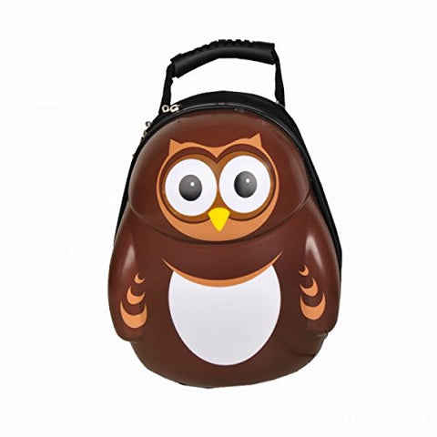 "CUTIES AND PALS KIDS BOYS GIRLS 13"" TRAVEL SCHOOL BACKPACK - OWL by PICTURE CASE"