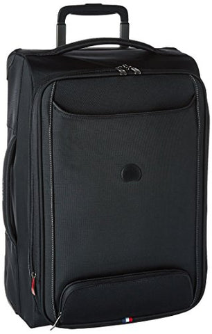 "Delsey Luggage Chatillon 21"" Carry-On Exp. 2 Wheel Trolley, Black"