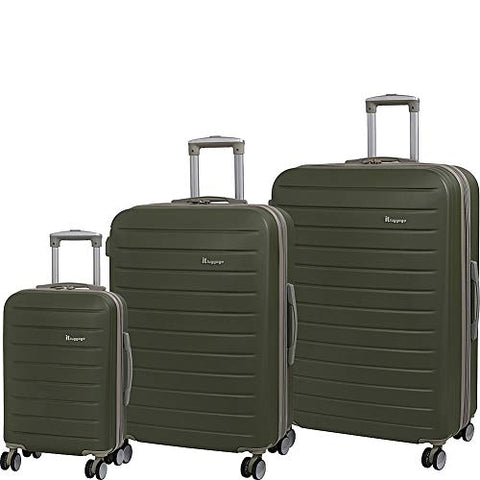 it luggage Legion 8-Wheel Hardside Expandable, Dark Olive With Cobblestone Trim