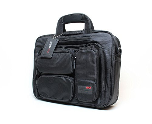 Mobile Edge Mebcc1 Corporate Laptop Briefcase - Black