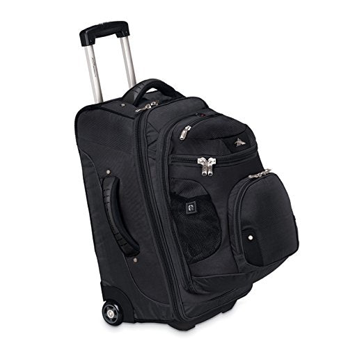 "High Sierra 22"" Wheeled Backpack (Black)"