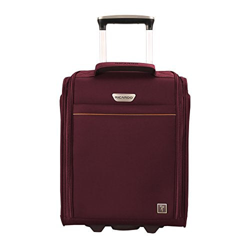 Ricardo Beverly Hills Mar Vista 2.0 16-Inch Under Seat Rolling Travel Tote (Wine)