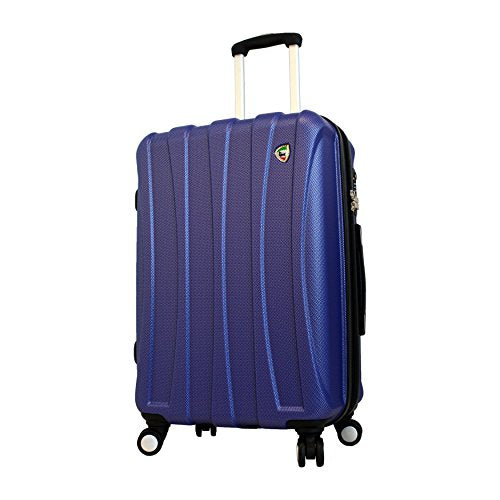 Mia Toro Luggage Tasca Fusion Hardside 24 Inch Spinner, Blue, One Size