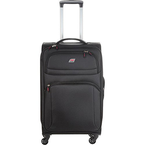 "Andare Buenos Aires 25"" 4 Wheel Spinner Upright (Black)"