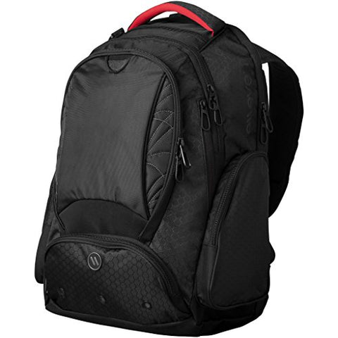 Elleven Vapor Checkpoint Friendly 17in Computer Backpack (13.2 x 8.5 x 19.5 inches) (Solid Black)