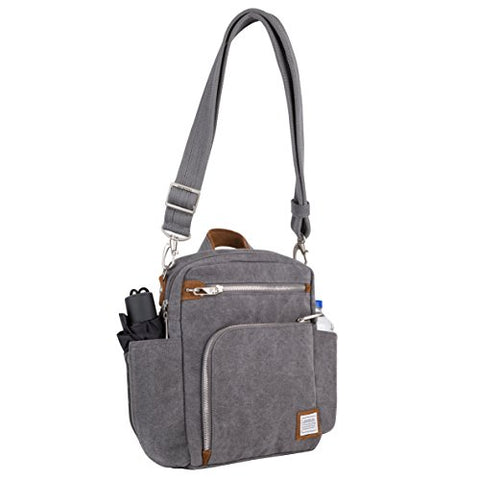 Travelon Anti-Theft Heritage Tour Bag , Pewter, One Size