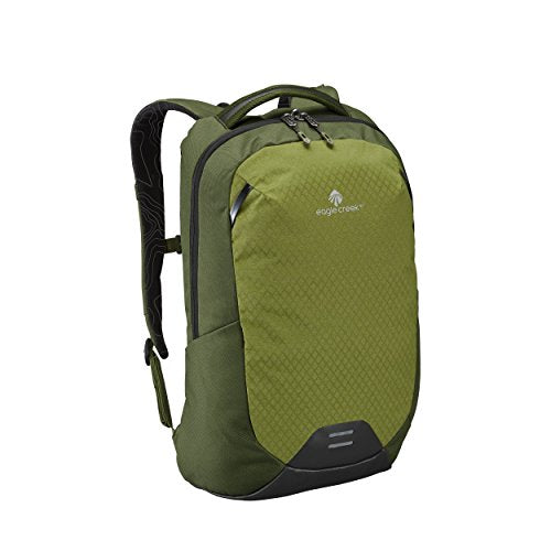Eagle Creek Wayfinder 20L Backpack-multiuse-15in Laptop Hidden Tech Pocket Carry-On Luggage, Cypress/Highland Green