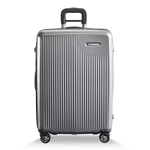 Briggs & Riley Sympatico Medium Cx Spinner (Silver)