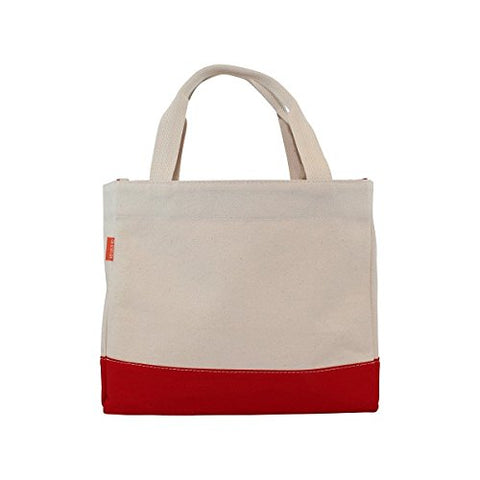 CB Station 6188 Color Block Tote Bag44; Red
