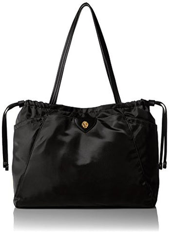 Anne Klein Wander MED ALY Nylon Tote black/black navy, One size