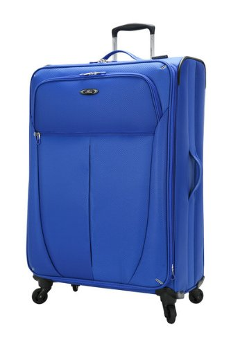 Skyway Luggage Mirage Superlight 28-Inch 4 Wheel Expandable Upright, Maritime Blue, One Size