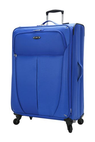 Skyway Luggage Mirage Ultralite 20-Inch 4 Wheel Expandable Carry-On, Maritime Blue, One Size