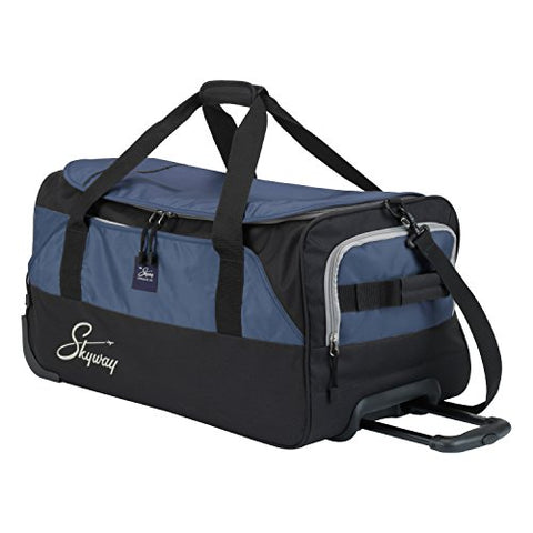 Skyway Sodo 26-inch Rolling Duffel, Navy Blue