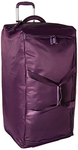Lipault Paris 0% Pliable Upright Wheeled Duffel 78/29, Purple
