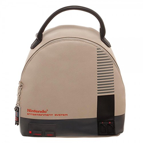 Classic Nintendo Entertainment System Console Mini Backpack