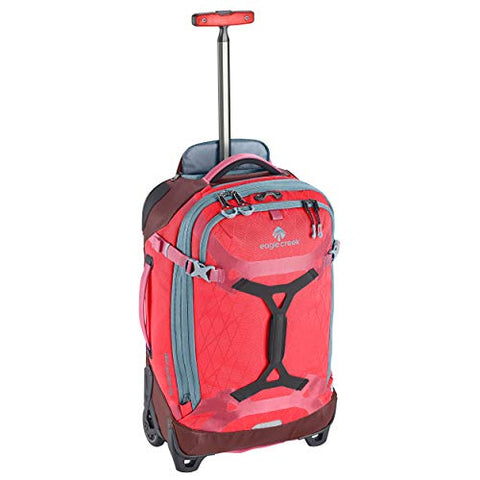 Eagle Creek Gear Warrior Carry-On Rolling Duffel Bag, Coral Sunset