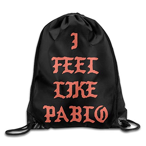 GBMVN I Feel Like Pablo Unisex Drawstring Gym Sack Sport Bag