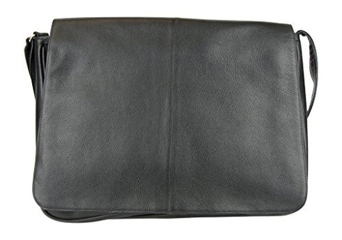 Latico Leathers Heritage Collection Front Flap Messenger , Authentic Luxury Leather, Designer