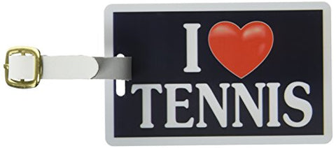 Tag Crazy I Heart Tennis Two Pack, Black/White/Red, One Size