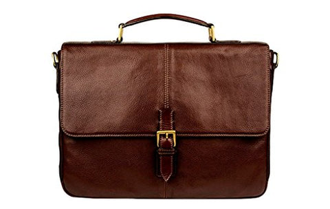 Scully Briefcase, 906-48, Chocolat, 25